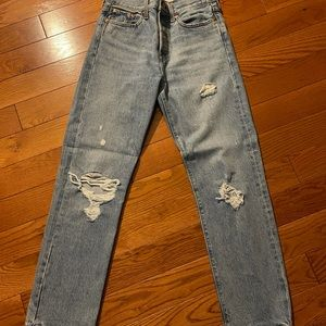 Levi's wedgie straight jeans 💙